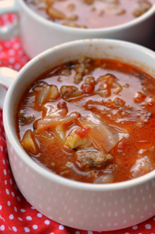 Savory Cabbage Roll Soup