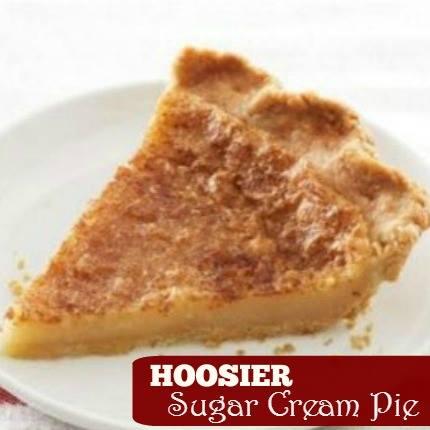 Sugar Cream Pie Recipes & History
