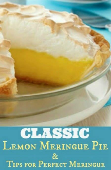Classic Lemon Meringue Pie Recipe & Perfect Meringue Tips