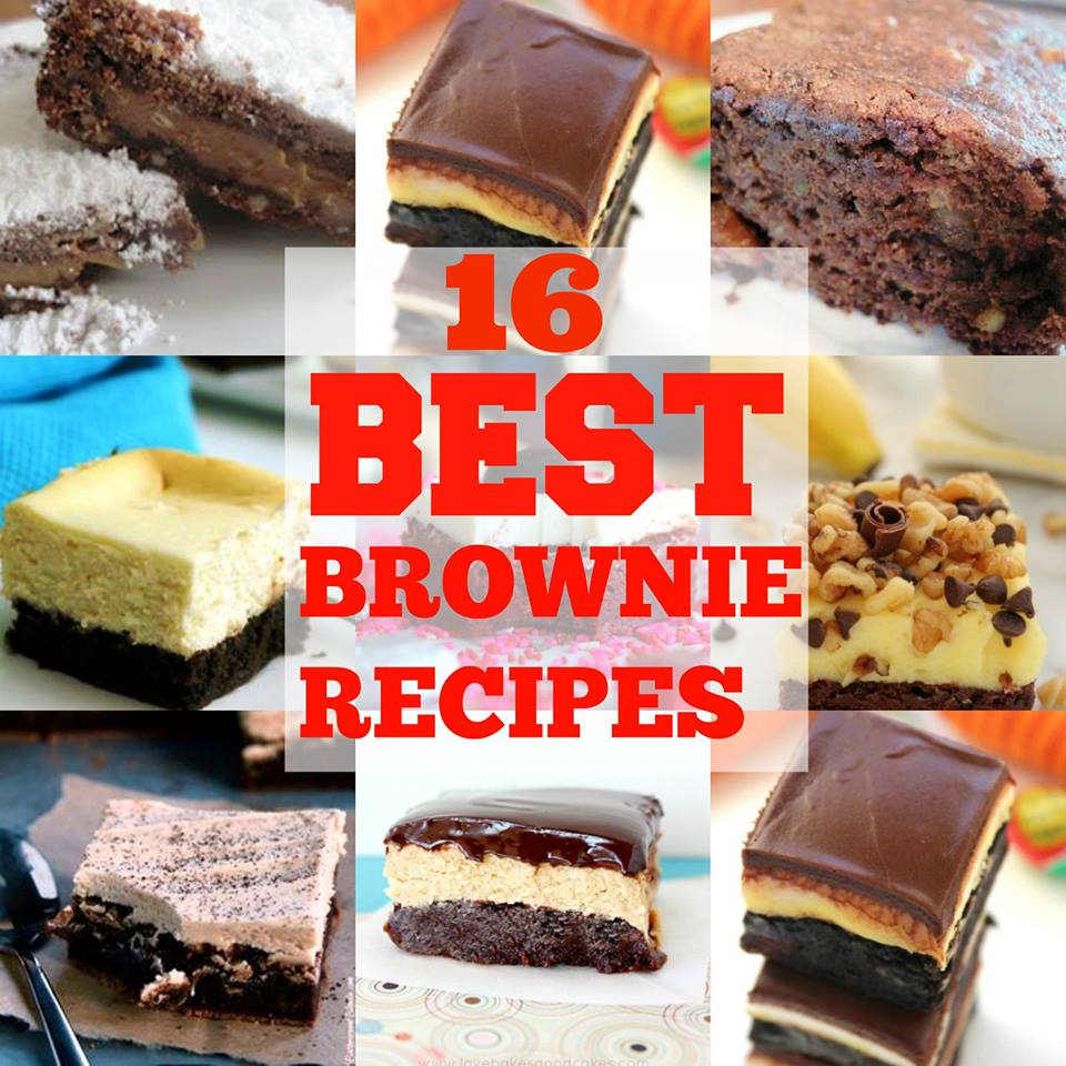 Top 16 Best Brownie Recipes