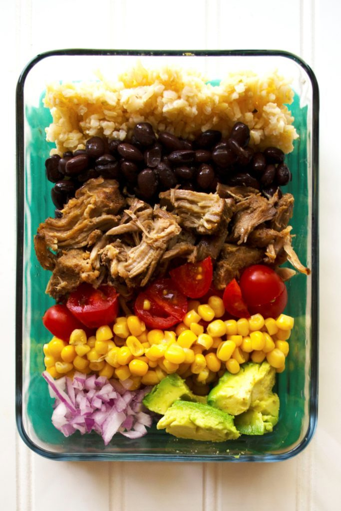 Carnitas Lunch Bowls