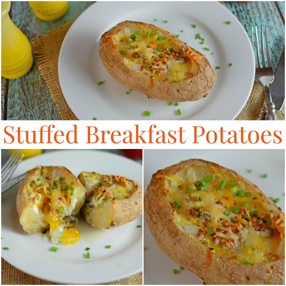 Stuffed Breakfast Potatoes
