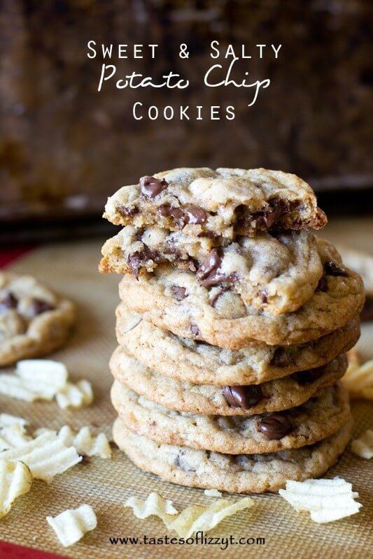 Sweet & Salty Potato Chip Cookies