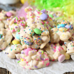 White Chocolate Easter Crockpot Candy Clusters