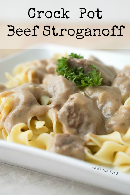 5 Ingredient Crockpot Beef Stroganoff