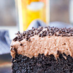 Kahula Chocolate Poke Cake