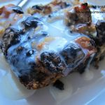 Cookies and Cream Bread Pudding