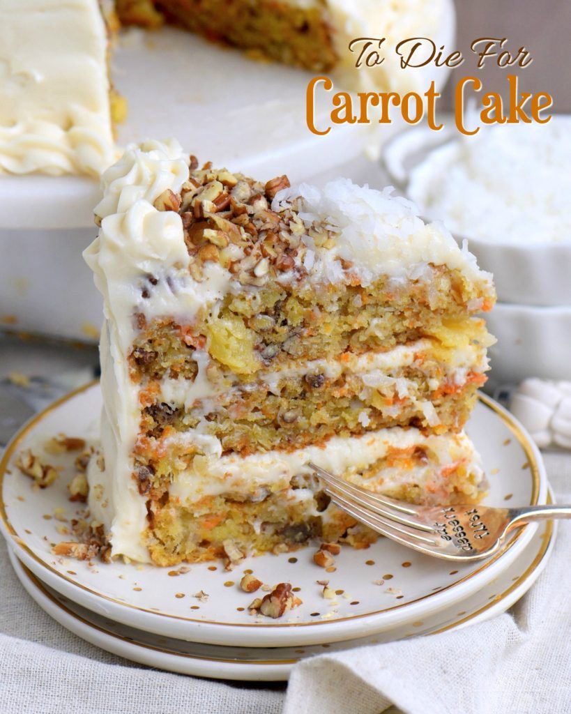 To Die For Carrot Cake