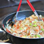 Weeknight Asian Chicken Noodles with Vegetables