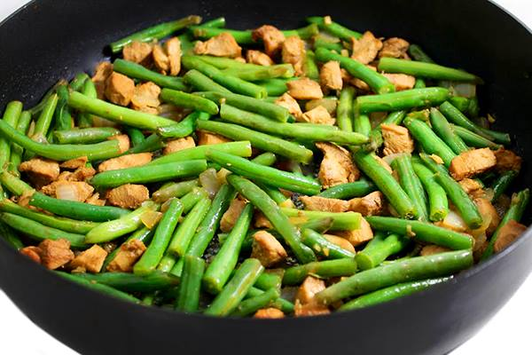 Panda's String Bean Chicken