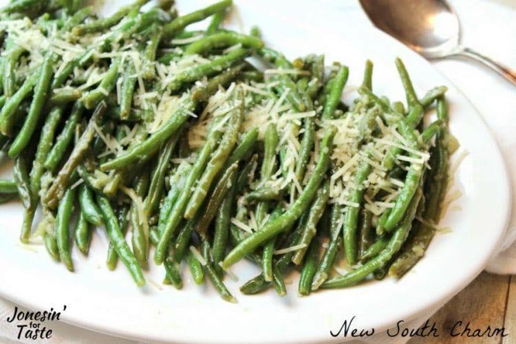 Parmesan Garlic Green Beans