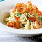 Cajun Shrimp Alfredo Pasta