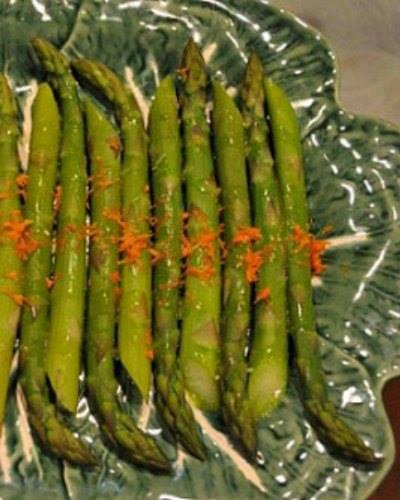 Spring Asparagus with Lemon Vinaigrette Recipe