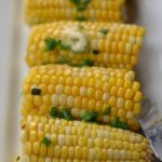 Honey Chive Butter Oven Roasted Corn