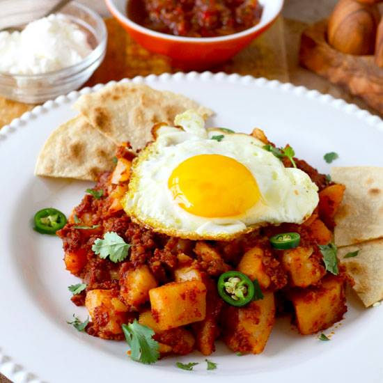 Potato and Chorizo Hash