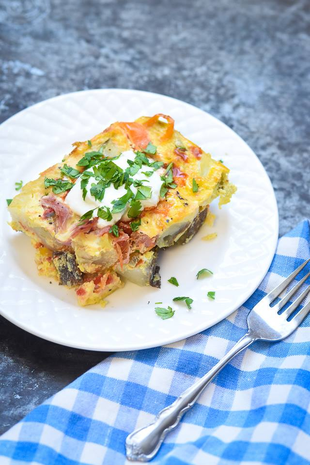 Lunch Meat Frittata
