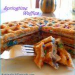 Springtime Waffles