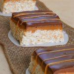 Chocolate Caramel Rice Krispy Squares