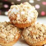 Greek Yogurt Cinnamon Coffee Cake Muffins