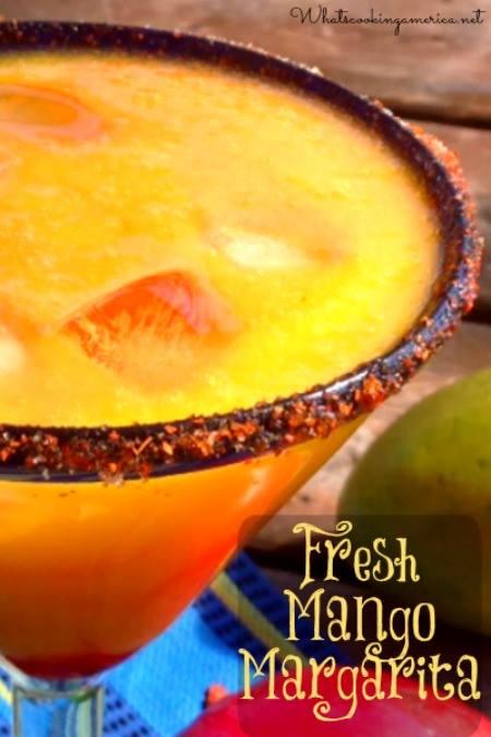 Fresh Mango Margarita