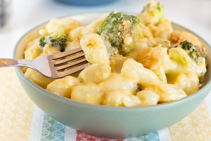 Four Cheese Gnocchi with Broccoli