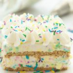 No Bake Funfetti Icebox Cake