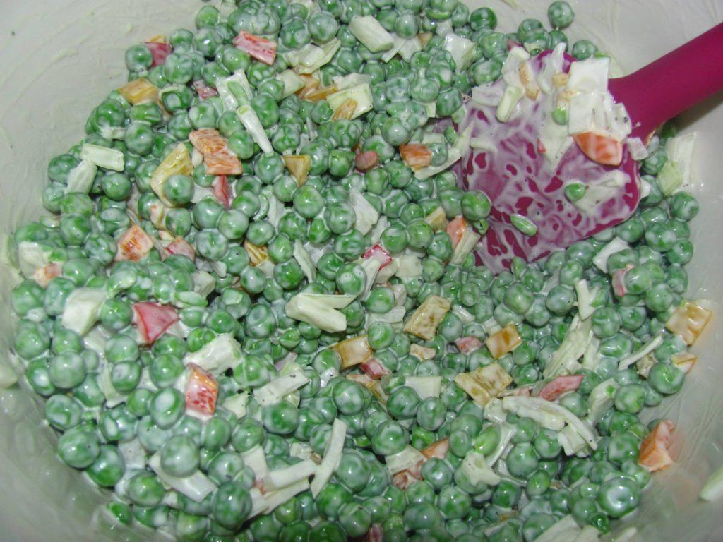 Summertime Pea Salad