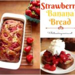 Homemade Strawberry Banana Bread