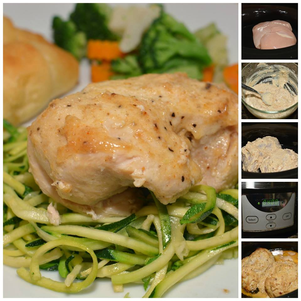 Slow Cooker Melt in your Mouth Chicken