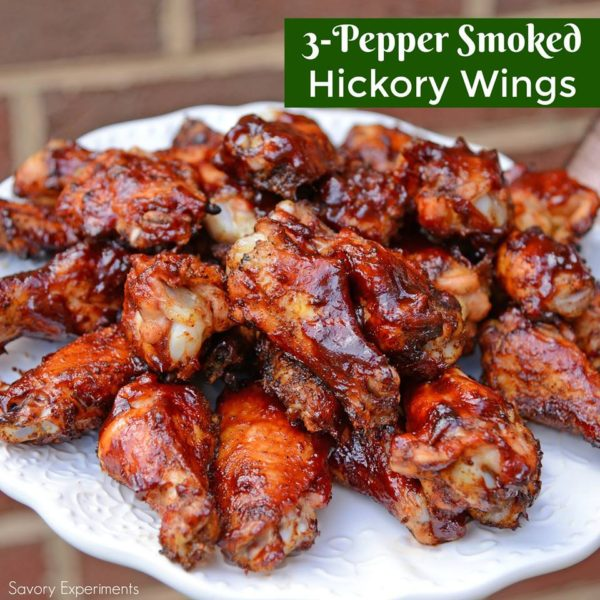 3 Pepper Hickory Smoked Wings