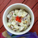 Apple Cider Chive Potato Salad