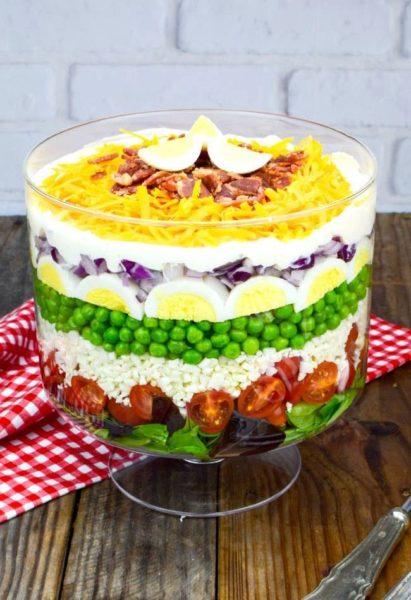 7 Layer Salad Maria S Mixing Bowl