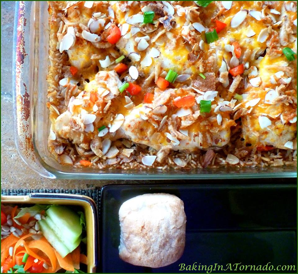 Chicken with Rice Dinner Casserole
