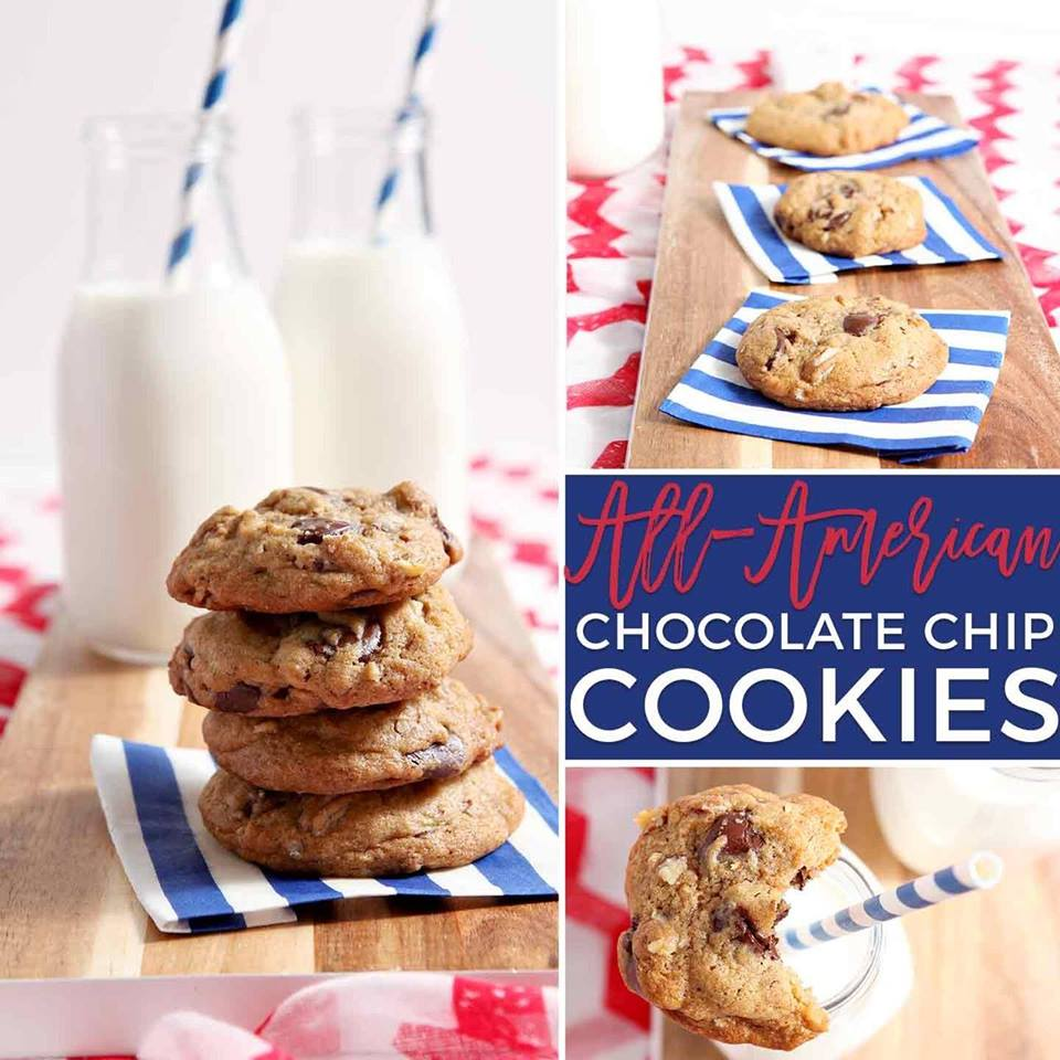 All-American Chocolate Chip Cookies - Maria's Mixing Bowl