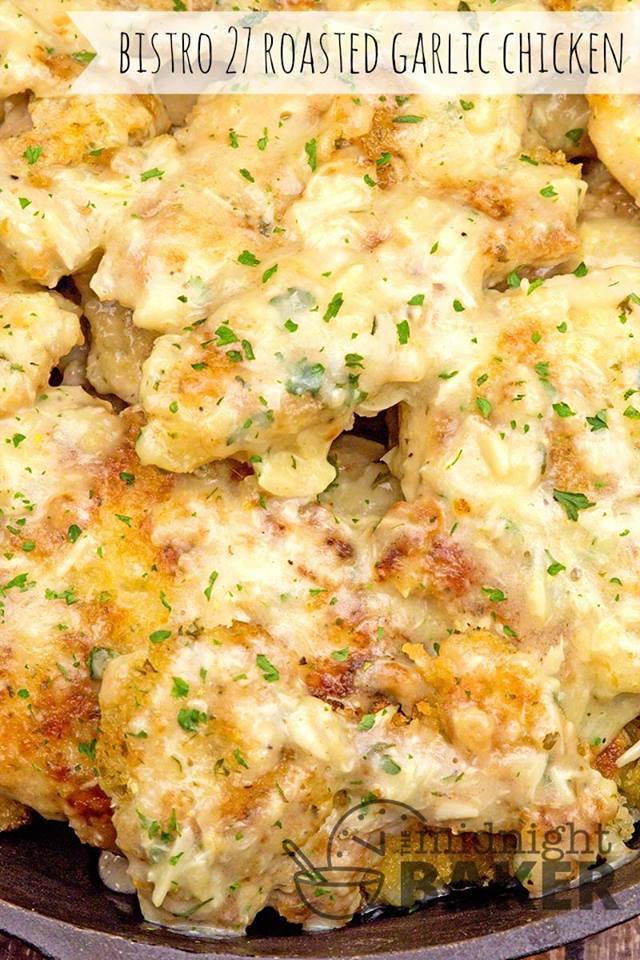 Bistro 27 Roasted Garlic Chicken