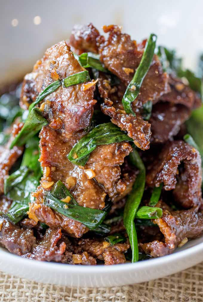 Mongolian beef for What to make with hamburger meat for dinner