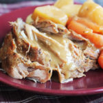 Crock Pot Pork Roast with Vegetables and Gravy
