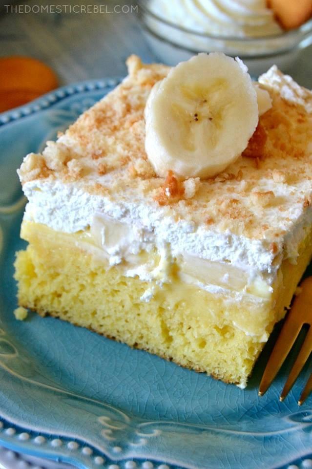 Fluffy Banana Cake Rice Cooker