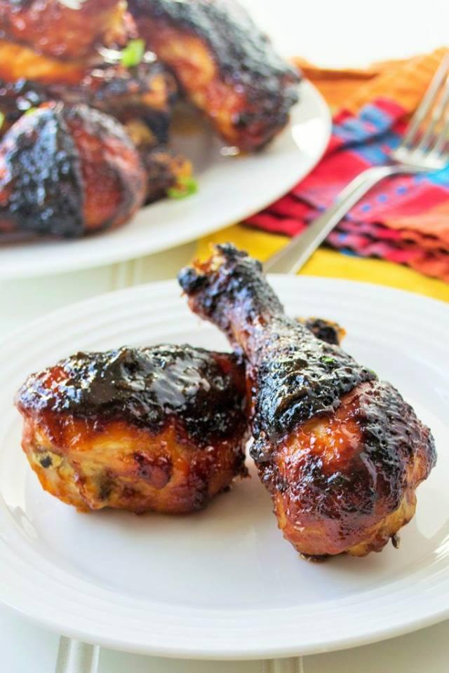 BBQ Spicy Orange Chicken