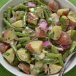 Creamy Potato and Green Bean Salad