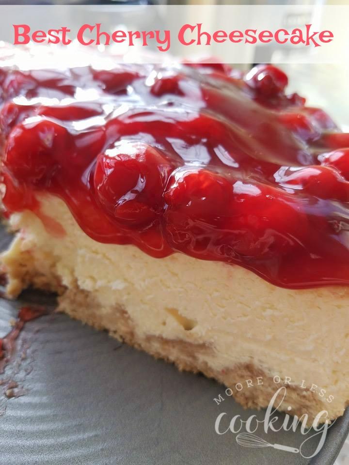 Best Cherry Cheesecake Marias Mixing Bowl