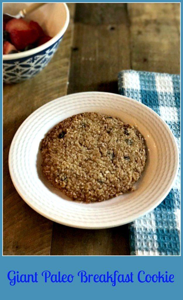 Giant Grab & Go Paleo Breakfast Cookies