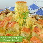 Cheesy Jalapeno Pull Apart Bread