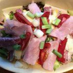 Maria's Italian Cobb Salad with Simple Parmesan Dressing