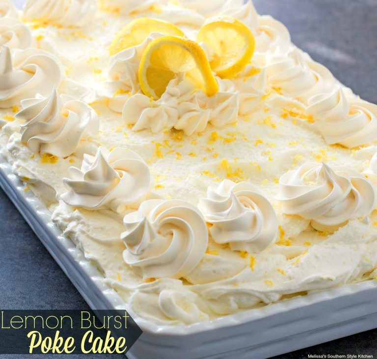 Lemon Burst Poke Cake Maria S Mixing Bowl
