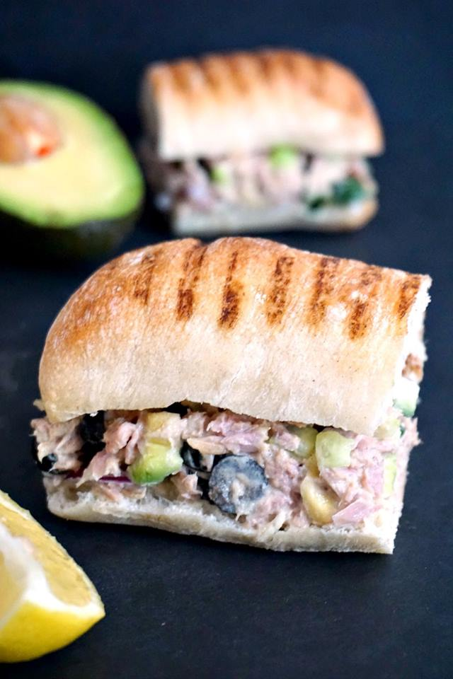 Simple Tuna Salad Sandwich