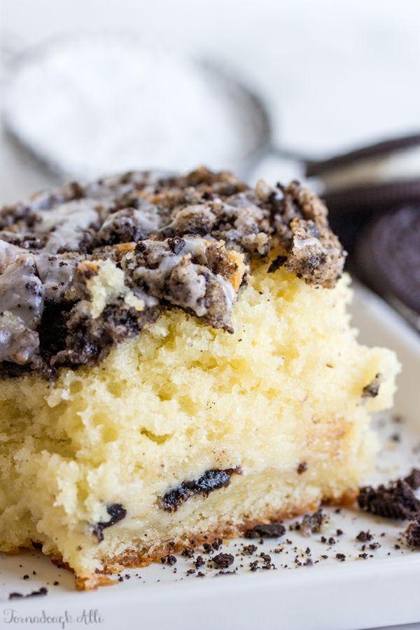 Cookies and Cream Coffee Cake