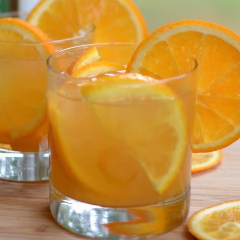 Orange Whiskey Sours
