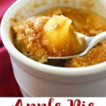Apple Pie Mug Cake