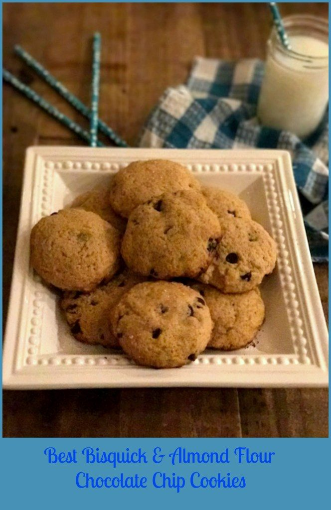Best Bisquick & Almond Flour Chocolate Chip Cookies